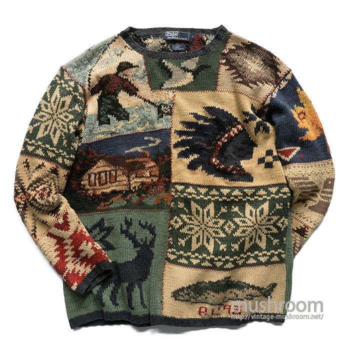 POLO BY RALPH LAUREN HAND-KNIT SWEATER