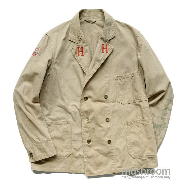 OLD MILKMAN HBT WORK JACKET