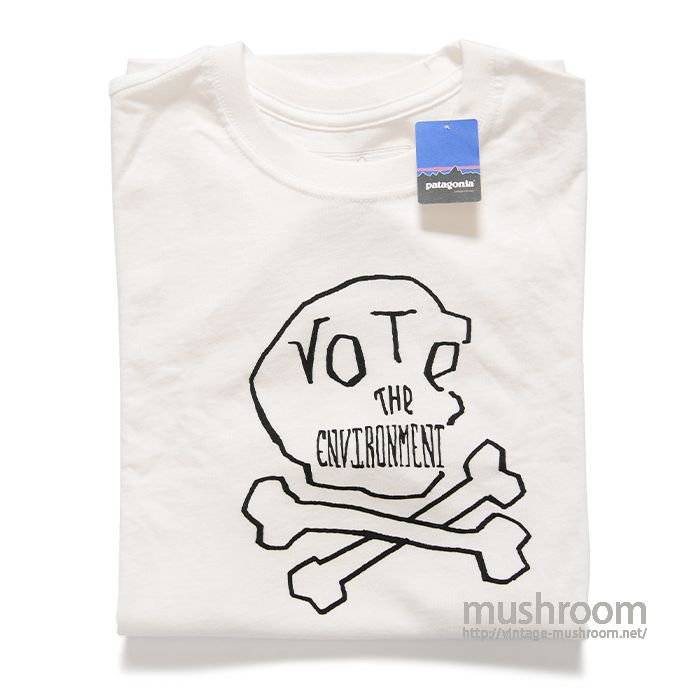 PATAGONIA VOTE T-SHIRT( S/DEADSTOCK )