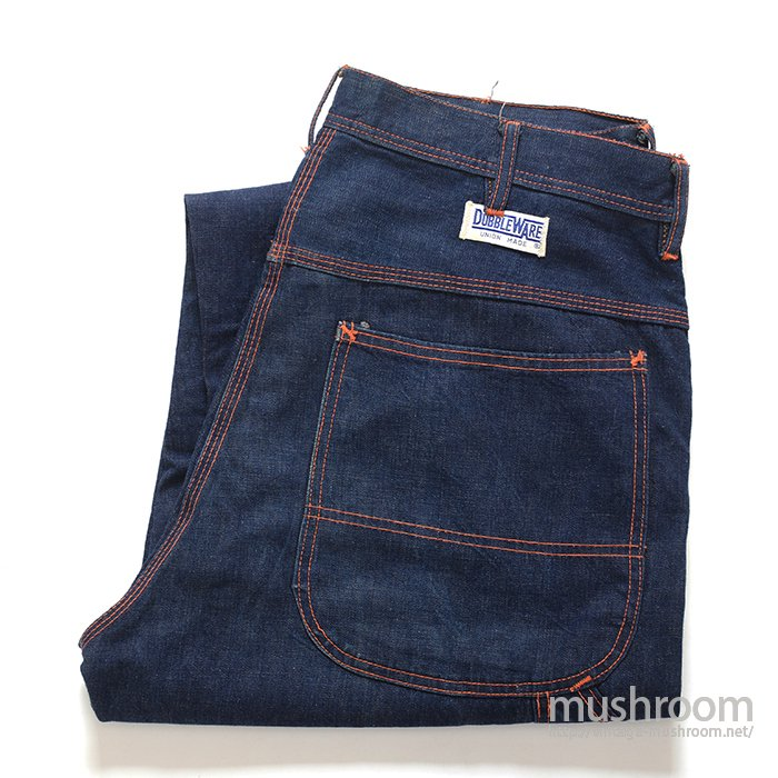 DUBBLEWARE DENIM PAINTER PANTS