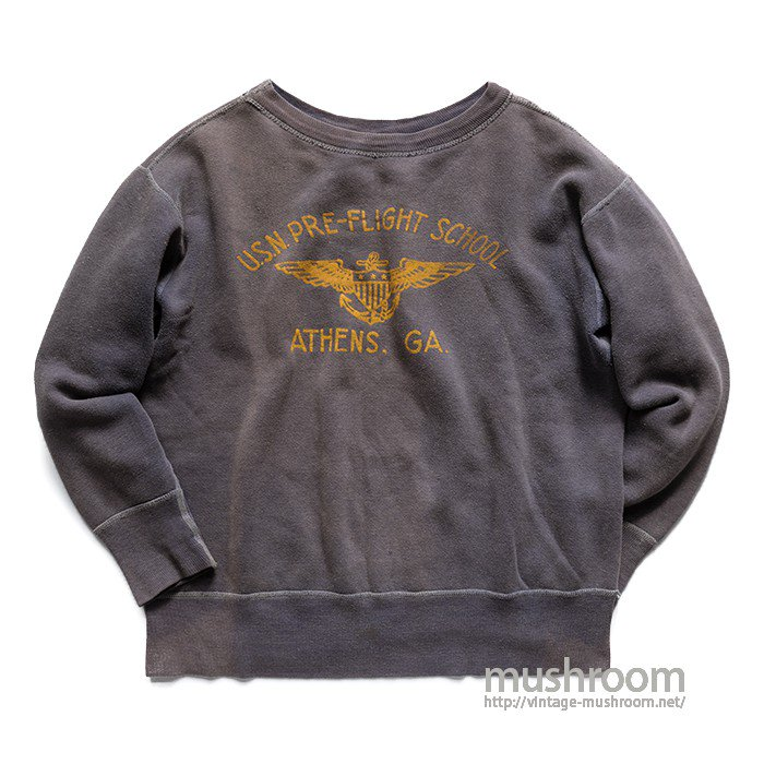 WW2 U.S.N PRE-FLIGHT SCHOOL SWEAT SHIRT