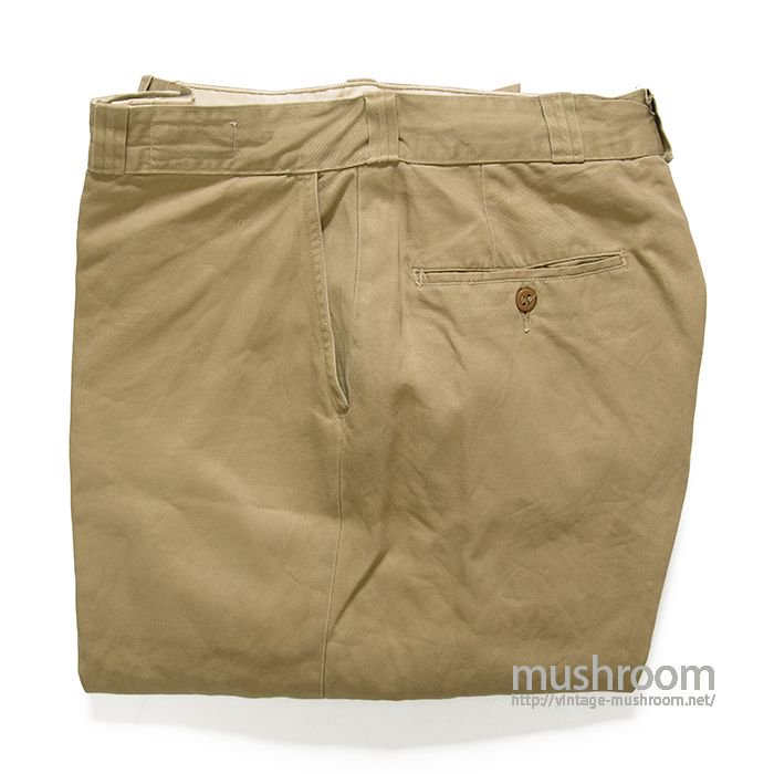 U.S.ARMY CHINO TROUSER( W34/L29/MINT )