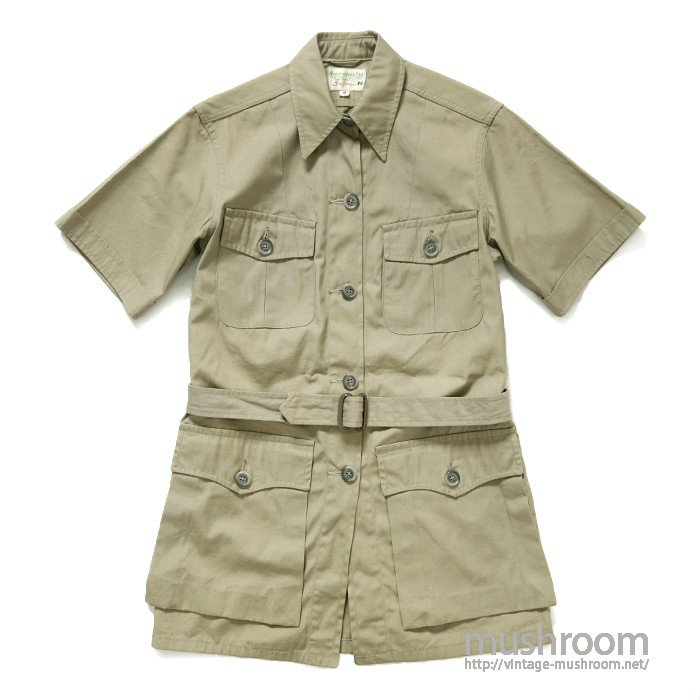 A&F S/S SAFARI JACKET( 8/MINT )
