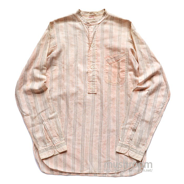 UTOPIA PULLOVER COTTON WORK SHIRT( UNUSUAL POCKET )
