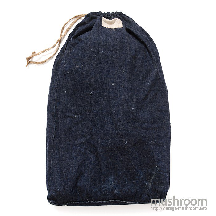 WW2 UNKNOWN DUNGAREE DENIM BAG