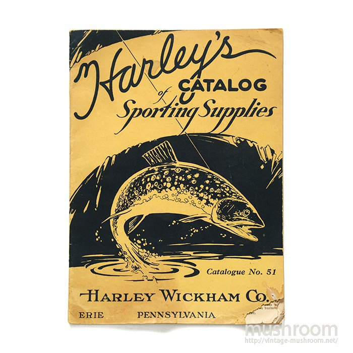 HARLEY WICKHAM CO SPORTING SUPPLIES CATALOG