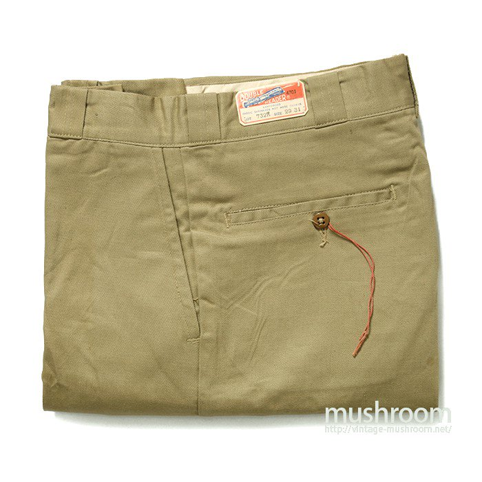 DOUBLE HEADER COTTON WORK TROUSERS( 29/31/DEAD )