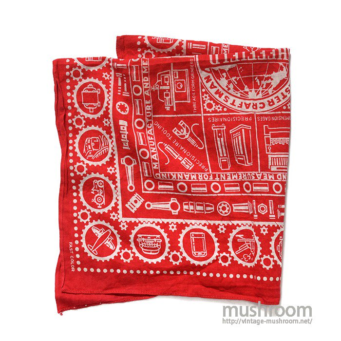 SHEFFIELD ADVERTISING BANDANA( DEADSTOCK )