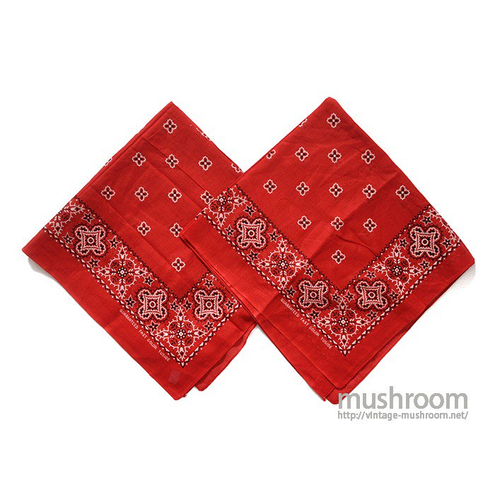 TUSIDE 2SET BANDANA( DEADSTOCK )