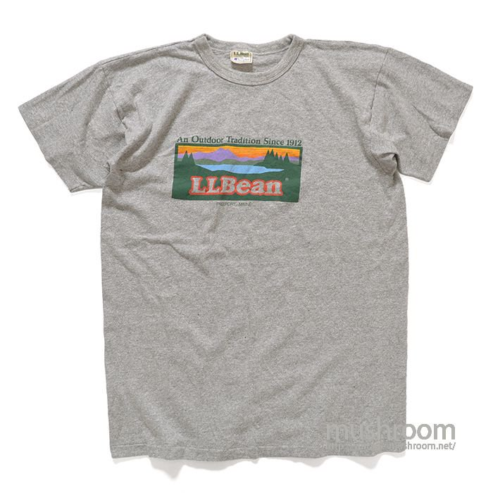 L.L.BEAN T-SHIRT( L/1WASHED)