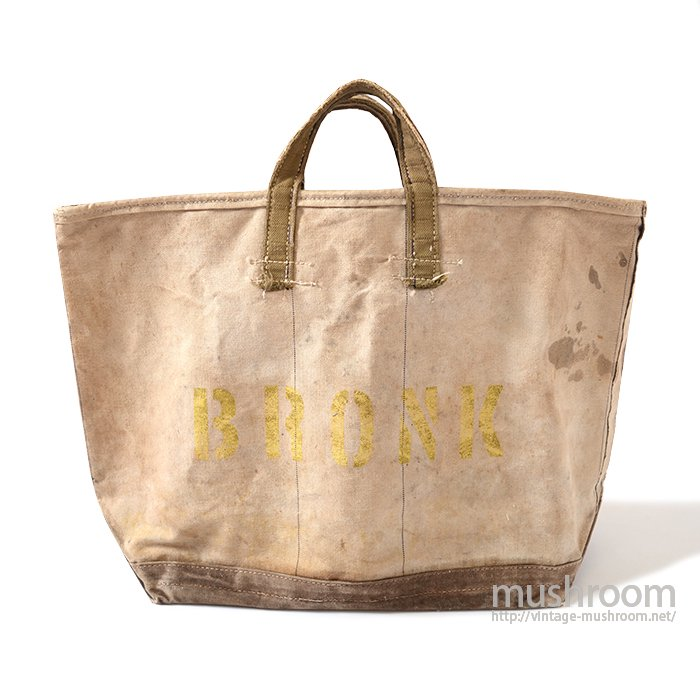 BRONK TWO-TONE CANVAS COAL BAG