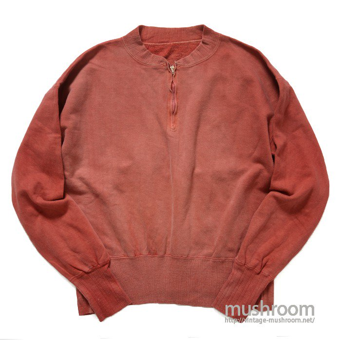 PILGRIM HALF-ZIP SWEAT SHIRT