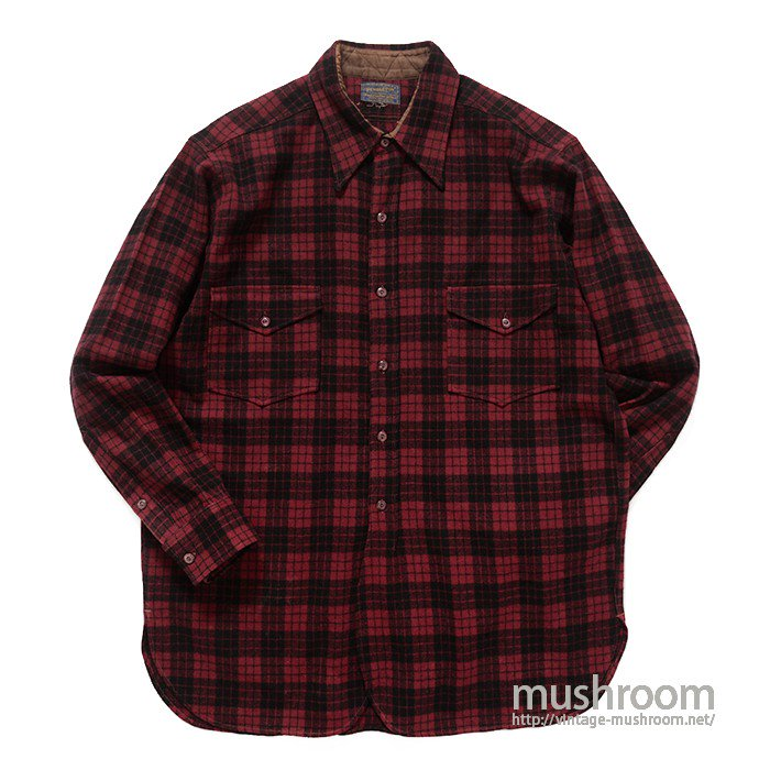 PENDLETON PLAID WOOL SHIRT