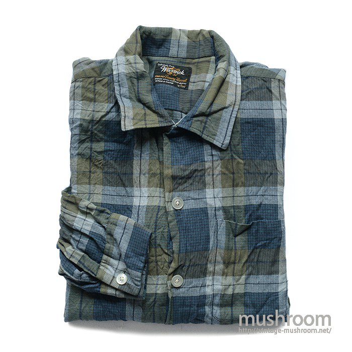 WARWICK 2PLY LUXURY FLANNEL BOX SHIRT