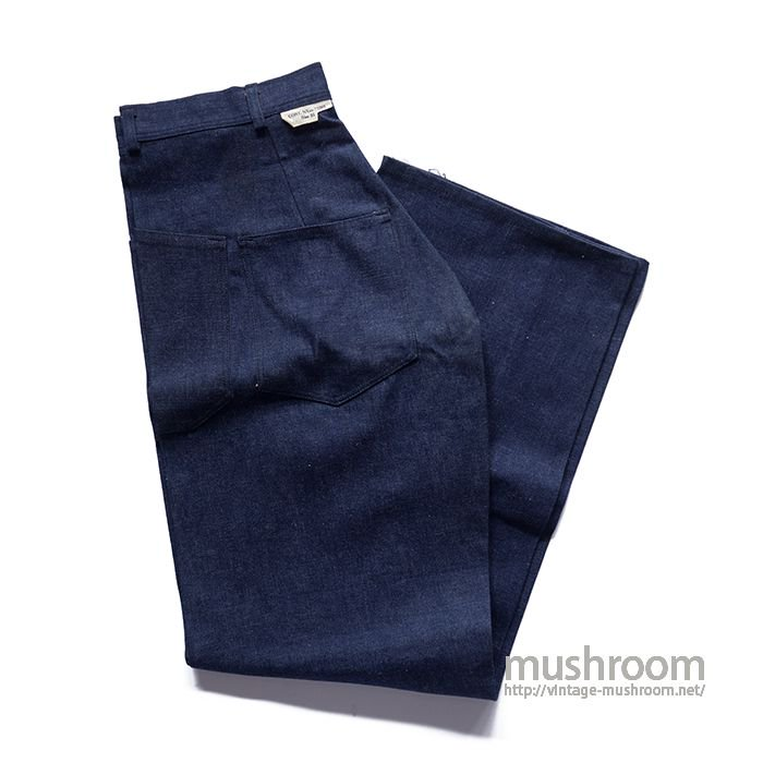 WW2 USN DUNGAREE DENIM TROUSER( 31/DEADSTOCK )
