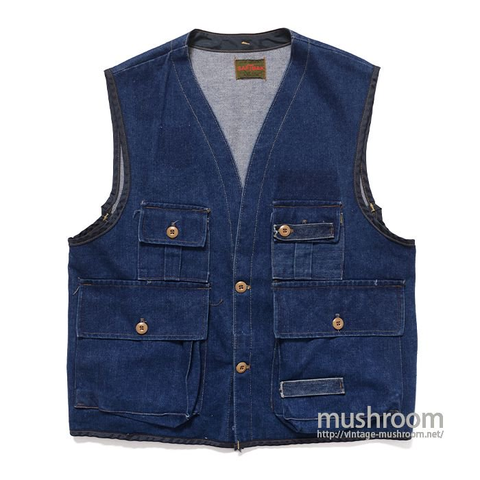 SAFTBAK DENIM HUNTING VEST