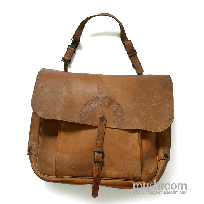WW2 U.S.NAVY LEATHER MAIL BAG( DEADSTOCK )