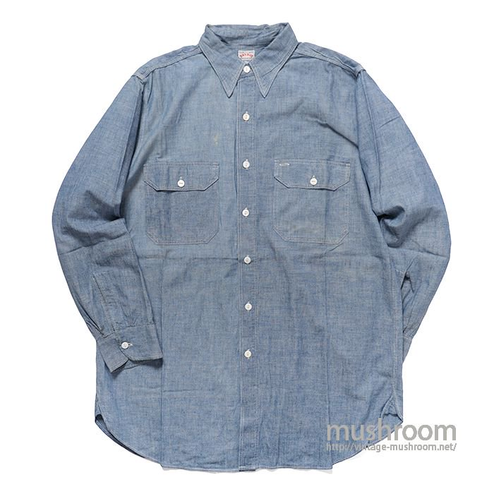 PAYDAY CHAMBRAY WORK SHIRT