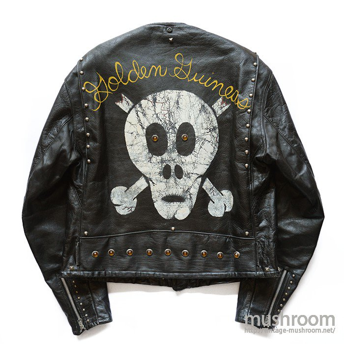 PERFECT W RIDERS JACKET( SKULL PAINT )