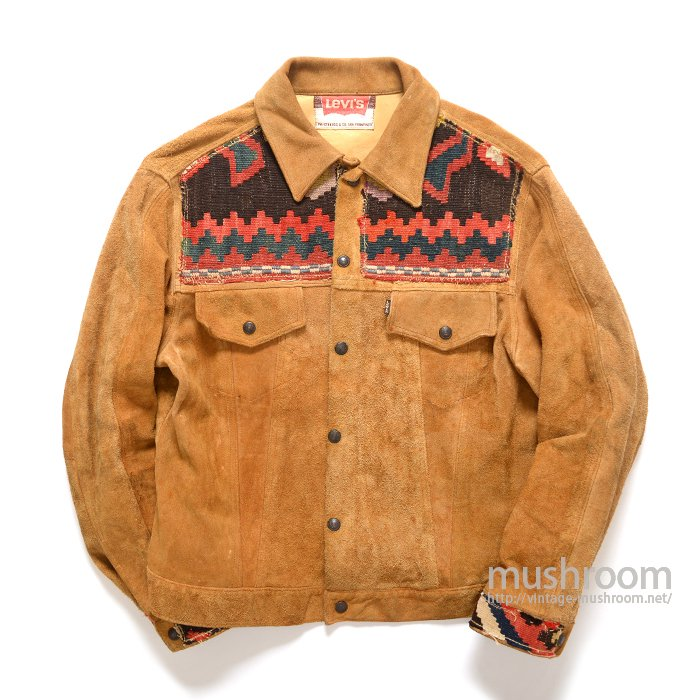 LEVI'S BIGE SUEDE JACKET( CUSTOM/MINT )