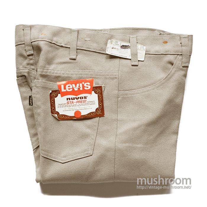 LEVI'S STA-PREST TAPERED PANTS( W30L30/DEAD )