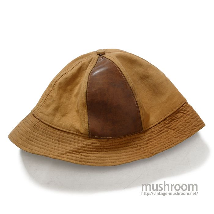 OLD CANVAS&LEATHER HUNTING HAT