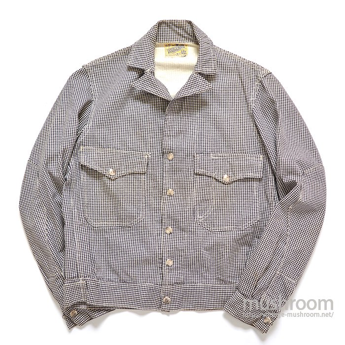 DOUBLEWARE GINGHAM CHECK WORK JACKET