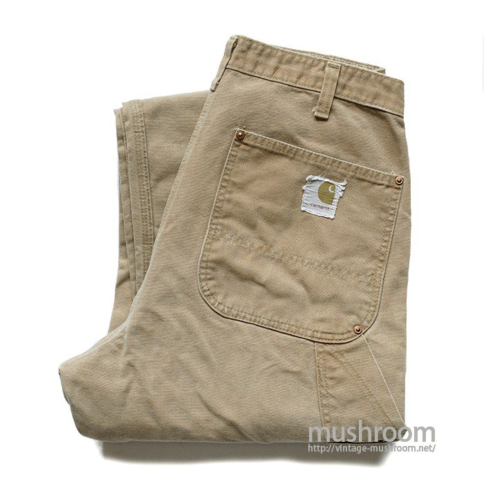 CARHARTT BROWN DUCK DOUBLE KNEE PANTS