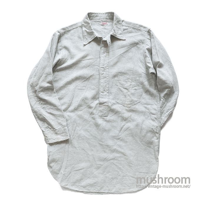 MECO ONE POCKET COTTON SHIRT WITH CHINSTRAP