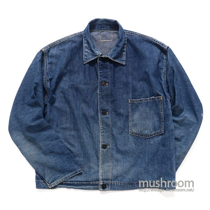 UNKNOWN ONE-POCKET DENIM JACKET