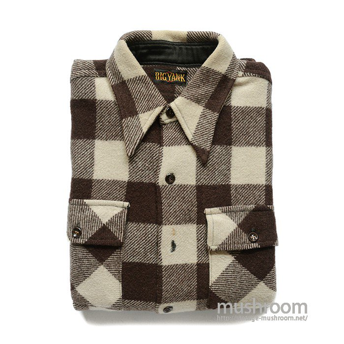 BIG YANK PLAID WOOL SHIRT