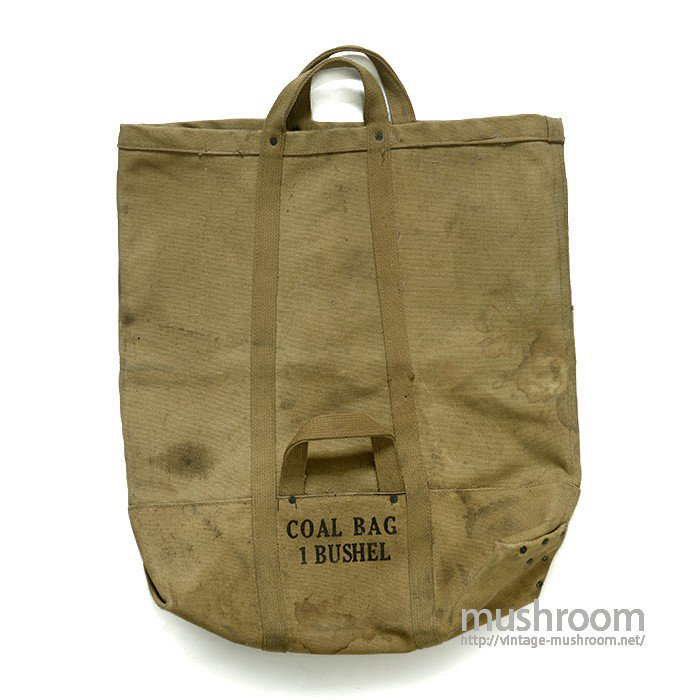 U.S.MILITARY CANVAS COAL BAG