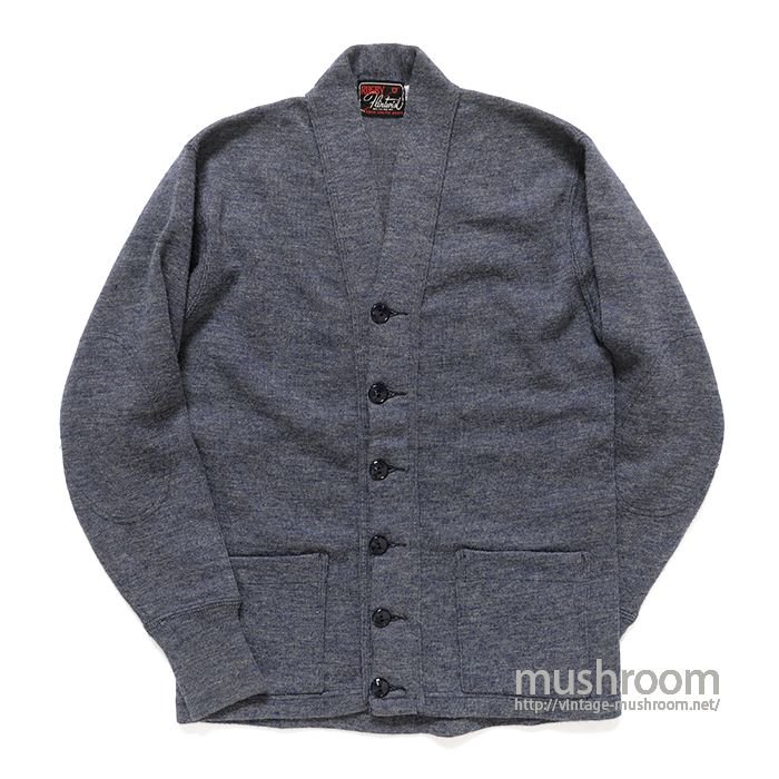 RUGBY KNITTING WOOL CARDIGAN
