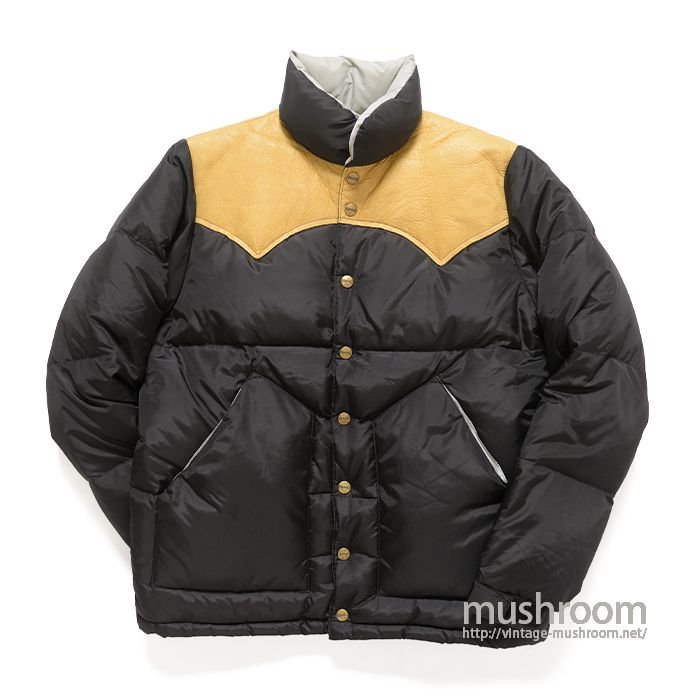 H BAR C BLACK DOWN JACKET( XS/MINT )
