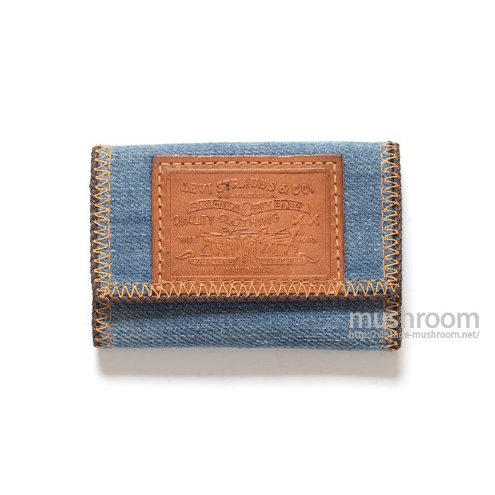LEVI'S DENIM&LEATHER KEY CASE( DEADSTOCK )