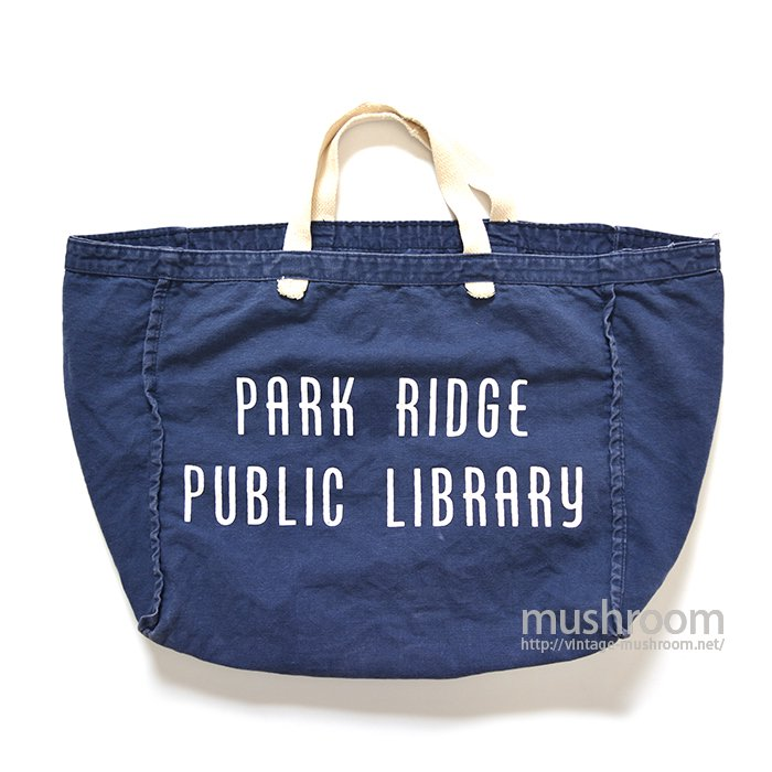 PARK RIDGE PUBLIC LIBRARY TOTE BAG