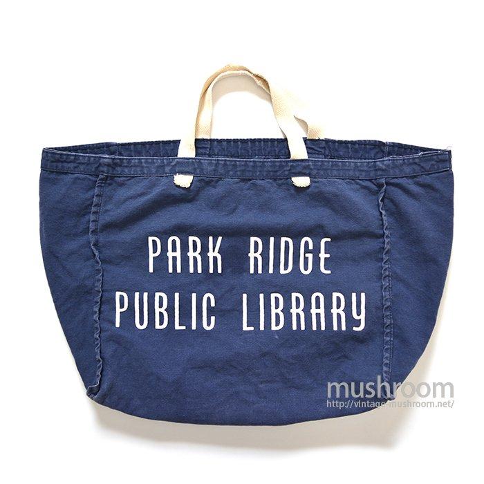 PARK RIDGE PUBLIC LIBRARY TOTE BAG