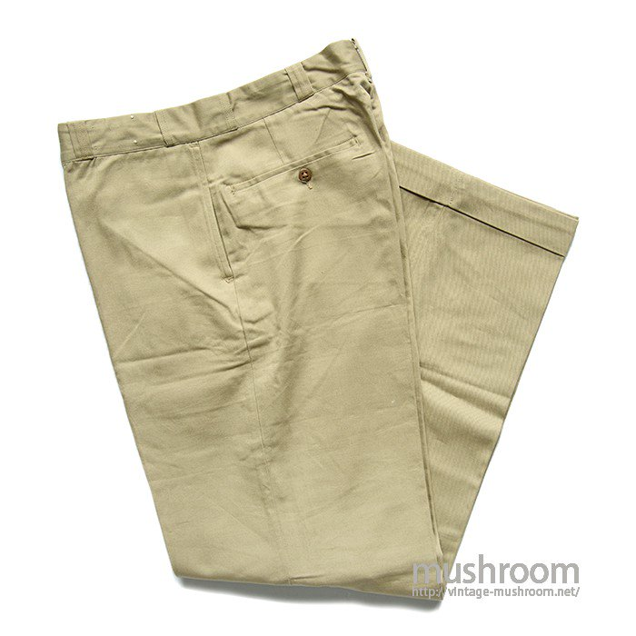 KAST IRON COTTON TWILL WORK PANTS( DEADSTOCK )