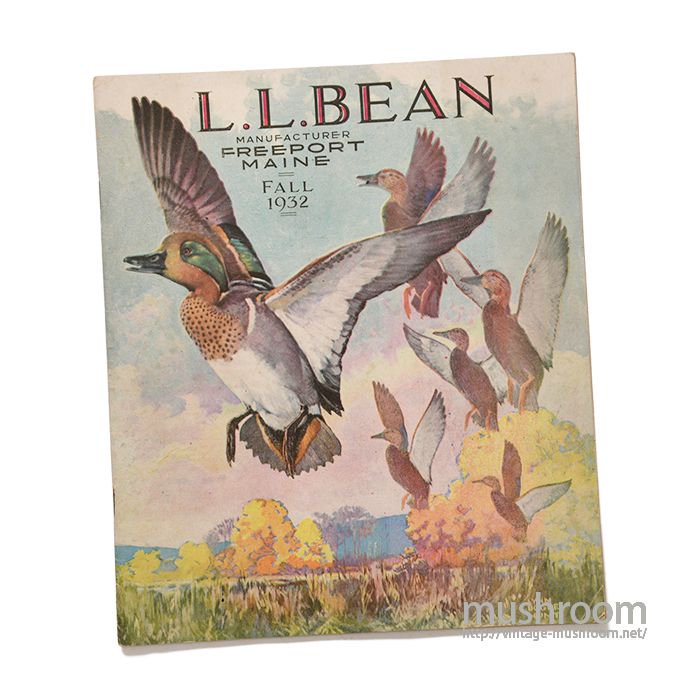 L.L.BEAN 1932 FALL CATALOG