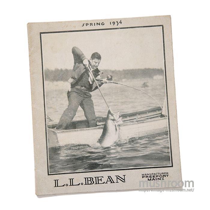 L.L.BEAN 1934 SPRING CATALOG