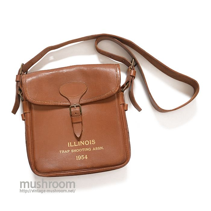 OLD A&F SHOOTING LEATHER BAG