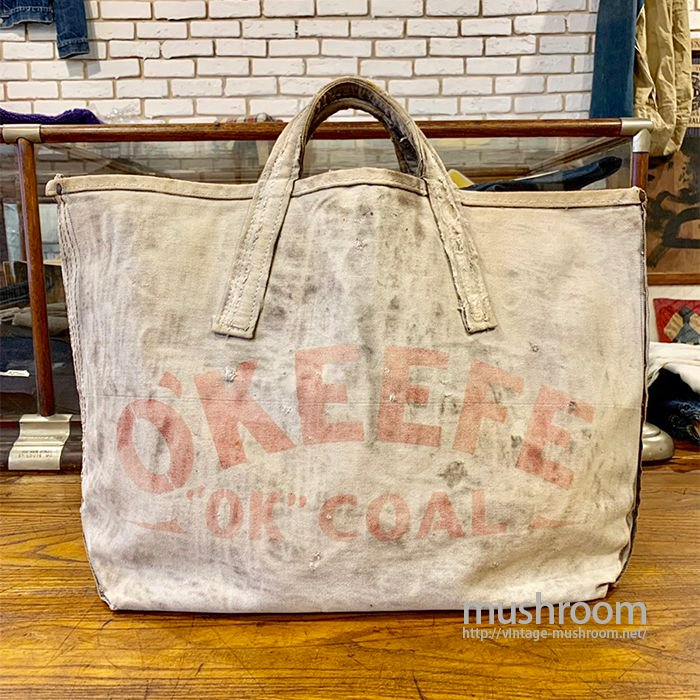 OKEEFE CANVAS COAL BAG