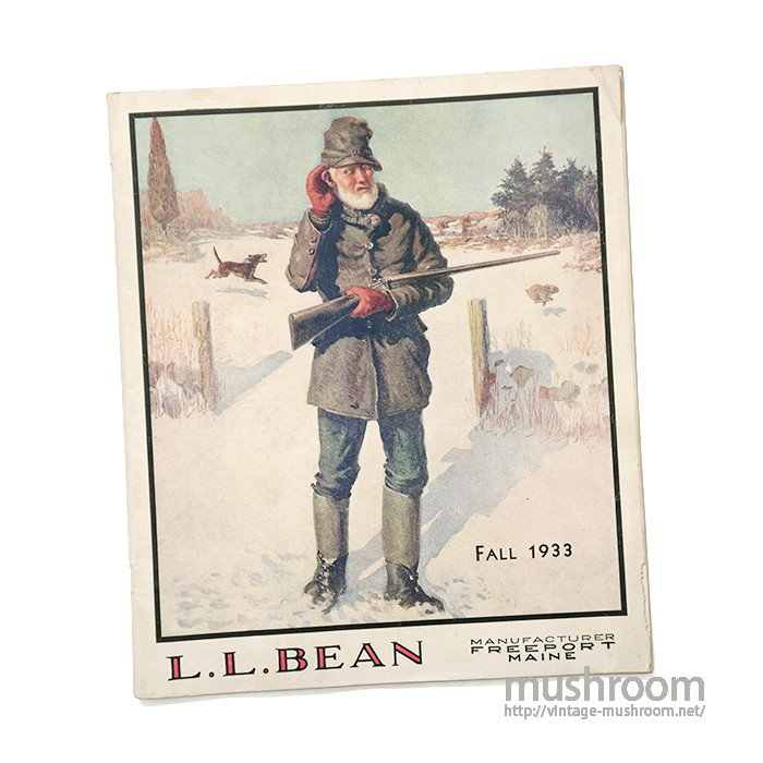 L.L.BEAN 1933 FALL CATALOG