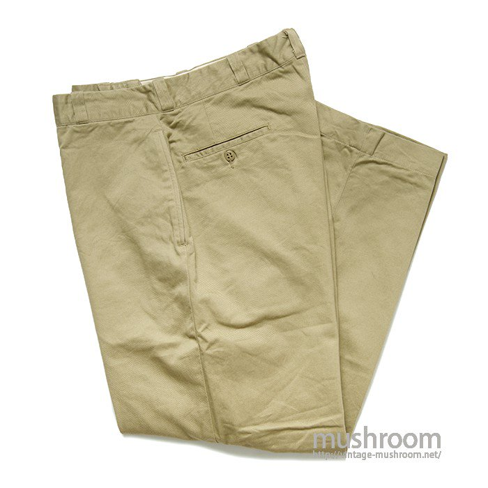 U.S.ARMY CHINO TROUSER( W34/L33/MINT )