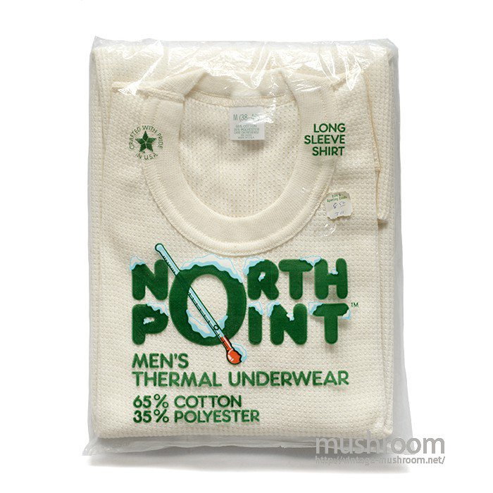 NORTH POINT THERMAL UNDERWEAR( M/DEADSTOCK )