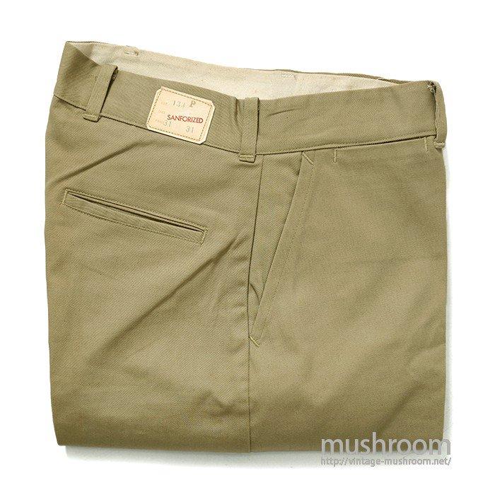 UNKNOWN COTTON WORK PANTS( W31/L31/DEADSTOCK )