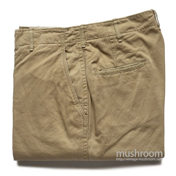 U.S.ARMY 45KHAKI CHINO TROUSERS( MINT )