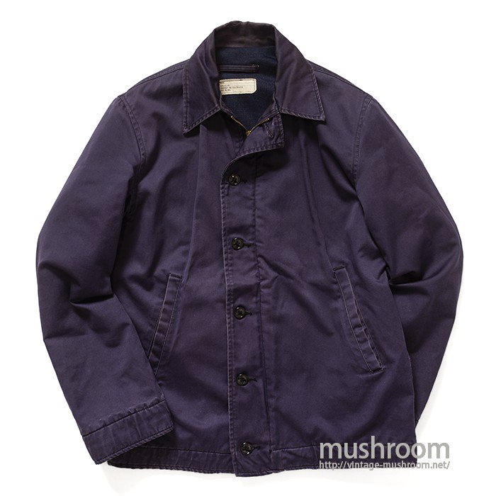 U.S.NAVY NAVY-BLUE UTILITY JACKET