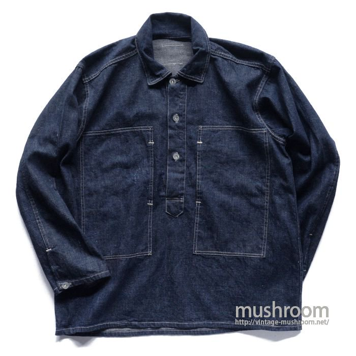 U.S.ARMY DUNGAREE DENIM JUMPER( ONE-WASHED/MINT )