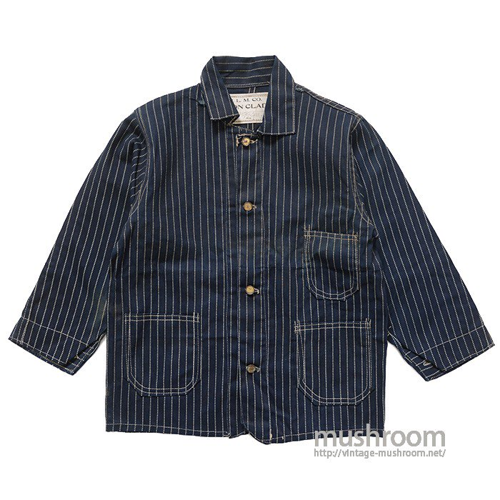 IRON CLAD WABASH-STRIPE COVERALL( DEADSTOCK )